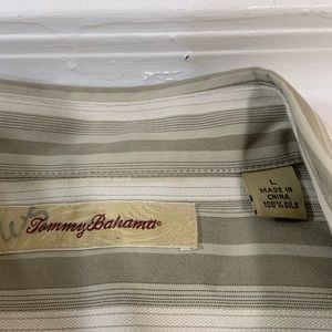 Tommy Bahama Shirts - Tommy Bahama Silk Long Sleeve Button Shirt L